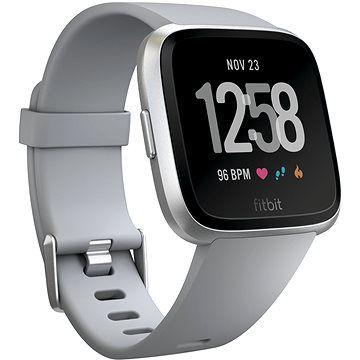 Fitbit Versa - Gray / Silver Aluminum cena od 3490 Kč