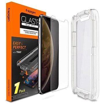 Spigen Glas.tR EZ Fit iPhone XS/X