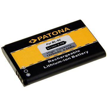 PATONA pro Nokia BL-5C 1200mAh 3,7V Li-Ion