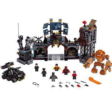 LEGO Super Heroes 76122 Clayface útočí na Batmanovu jeskyni