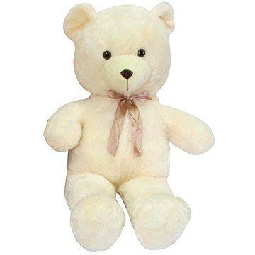 Teddies Medvěd s mašlí - béžový
