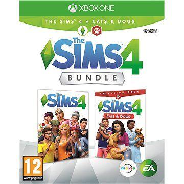 ELECTRONIC ARTS The Sims 4: Psi a Kočky bundle (Plná hra + rozšíření) - Xbox One