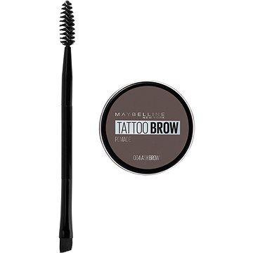 MAYBELLINE NEW YORK Tattoo Brow gelová pomáda na obočí 04 Ash Brown 4 g