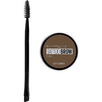 MAYBELLINE NEW YORK Tattoo Brow gelová pomáda na obočí 03 Medium Brown 4 g