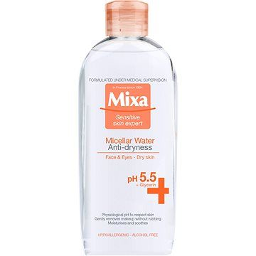 MIXA Intensive Care Dry Skin Anti-dryness micelární voda 400 ml