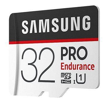 Samsung micro SDHC 32GB PRO Endurance + SD adaptér
