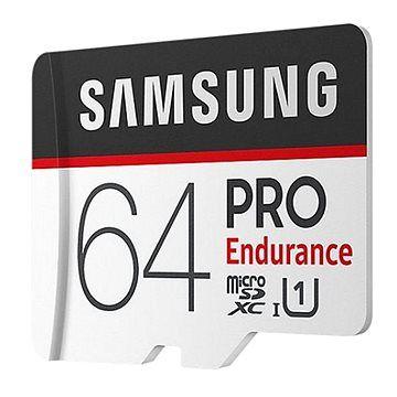 Samsung micro SDXC 64GB PRO Endurance + SD adaptér