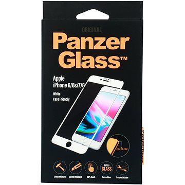 PanzerGlass Edge-to-Edge pro Apple iPhone 6/6s/7/8 bílé (CaseFriendly)