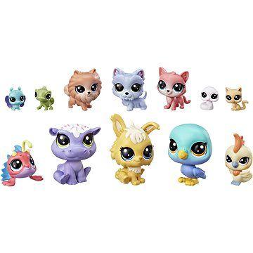 Hasbro Littlest Pet Shop Velké balení zvířátek 12 ks Cupcakes