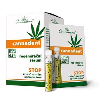 CANNADERM Cannadent sérum 10 × 1,5 ml