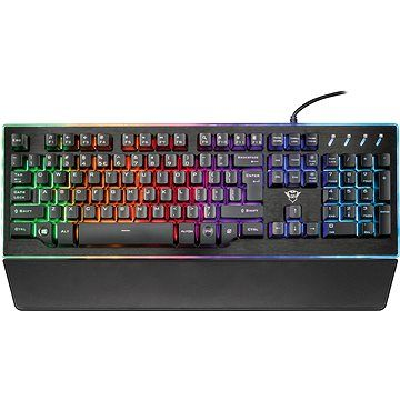 Trust GXT 860 Thura semi-mechanical keyboard CZ+SK