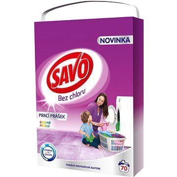 SAVO barevné prádlo 5 kg (70praní) cena od 279 Kč