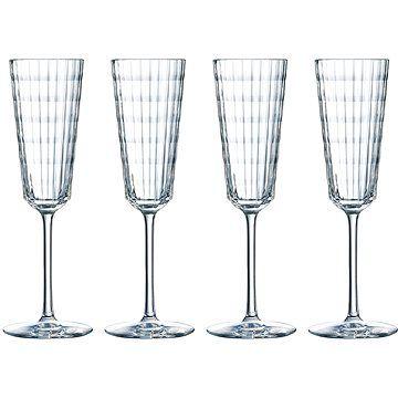 CRISTAL D´ARQUES Sklenice na šampaňské 170ml IROKO 4ks