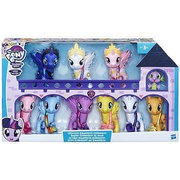 Hasbro My Little Pony Prémiová kolekce 9 poníků a dráčka cena od 0 Kč