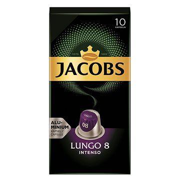 Jacobs Douwe Egberts Jacobs Lungo Intenso 10ks cena od 64 Kč