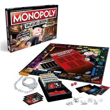 Hasbro Monopoly Cheaters CZ