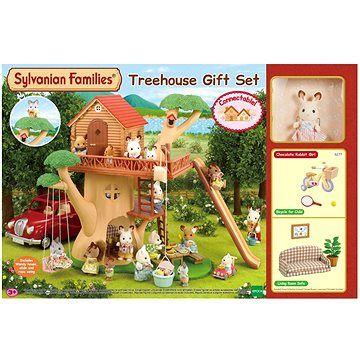 Olymptoy Sylvanian Families Dárkový set Dům na stromě s příslušenstvím