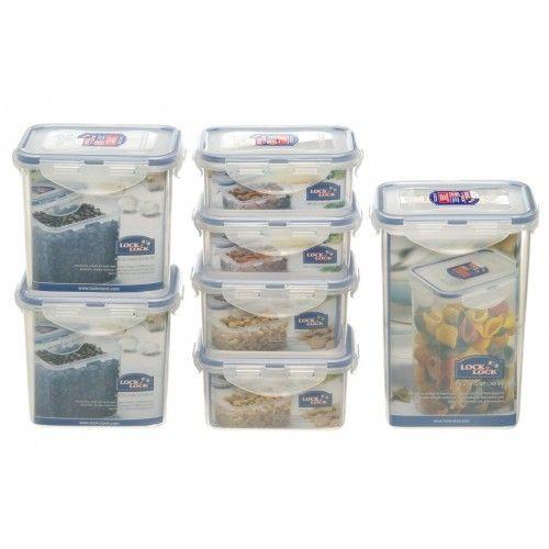 Lock&Lock Dóza na potraviny Lock - set 7ks cena od 399 Kč