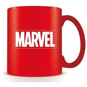Pyramid Marvel Logo červené - hrnek
