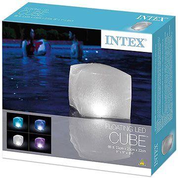 Intex LED plovoucí světlo kostka 28694