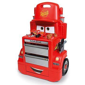 Smoby Cars 3 Pojízdná dílna Mac Truck