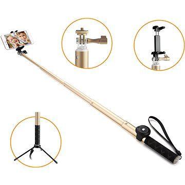 Gogen BT Selfie 4 teleskopická zlatá