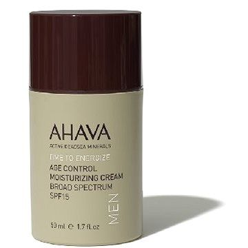 AHAVA Men Age Control Moisturizing Cream Broad Spectrum SPF15 50 ml
