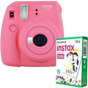Fujifilm Instax Mini 9 růžový + 10x fotopapír cena od 1890 Kč