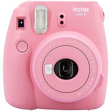 Fujifilm Instax Mini 9 růžově červený + 20x film + pouzdro + rámeček cena od 1990 Kč