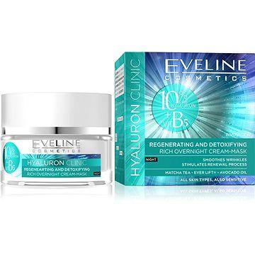 EVELINE Cosmetics Hyaluron Clinic Rich Overnight Cream-Mask 50 ml