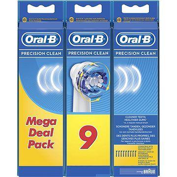 ORAL B Oral-B náhradní hlavice Precision clean 9ks