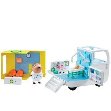 TM Toys Peppa Pig Lékařská pojízdná ordinace cena od 1029 Kč
