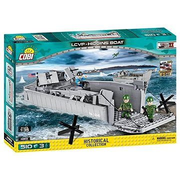 Cobi 4813 Vyloďovací člun LCVP Higgins Boat cena od 789 Kč