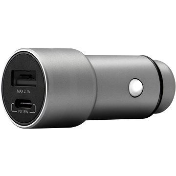 Epico 18W PD Car Charger - space grey