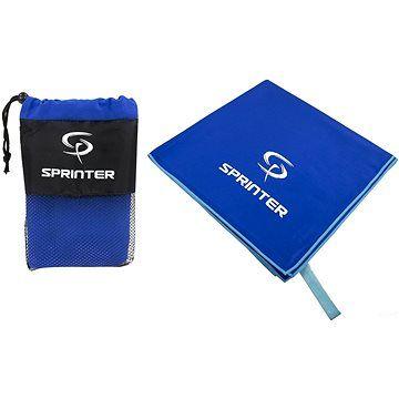 Sprinter - ručník z mikrovlákna 70 × 140 cm - modrý