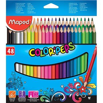Maped Color Peps, 48 barev