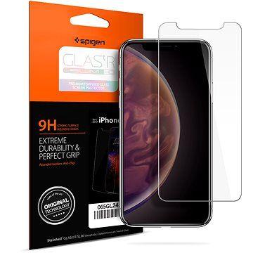 Spigen Glass Glas.tR Slim HD iPhone XS Max