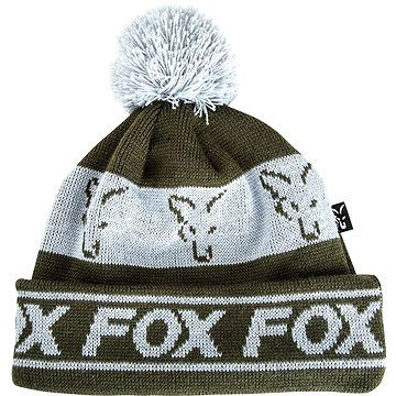 FOX Lined Bobble Hat Green/Silver