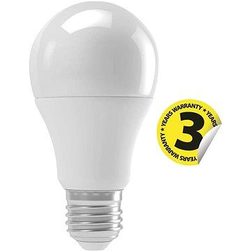 EMOS LED žárovka Classic A60 9W E27 teplá bílá pohybové čidlo