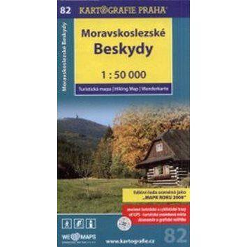 Kartografie PRAHA Moravskoslezské Beskydy 1:50 000: turistická mapa cena od 80 Kč