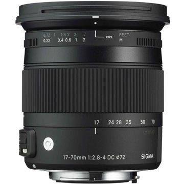 SIGMA 17-70mm f/2.8-4 DC MACRO OS HSM pro Canon Contemporary