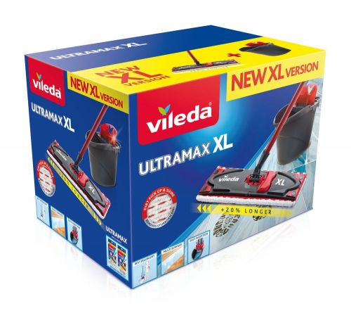 VILEDA Ultramax XL set Box Microfibre 2v1