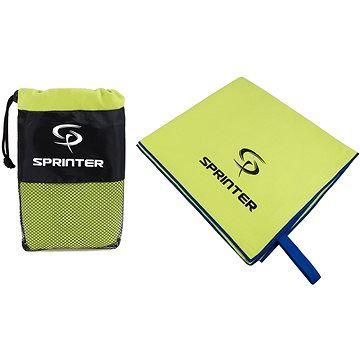 Sprinter - ručník z mikrovlákna 70 × 140 cm - zelený