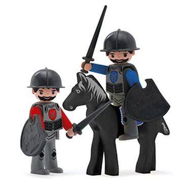 Igráček Trio - 2 rytíři a černý kůň