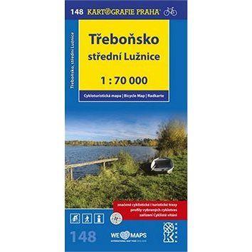 Kartografie PRAHA Třeboňsko,střední Lužnice 1:70 000: cyklomapa cena od 76 Kč