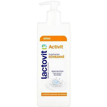 LACTOVIT Activit Tělové mléko ochranné 400 ml