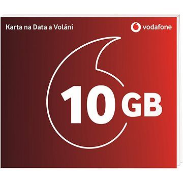 Vodafone datová karta - 10 GB dat