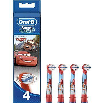 ORAL B Oral-B Kids Cars náhradní hlavice 4ks