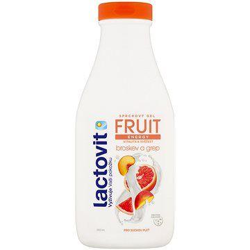 LACTOVIT Fruit Broskev a grep 500 ml
