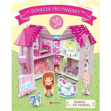 CPress Domeček pro panenky: kniha + 3D model